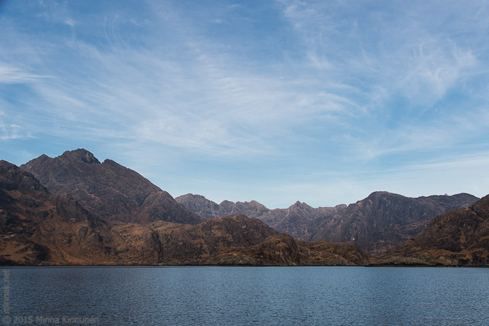 Approaching Loch Coruisk