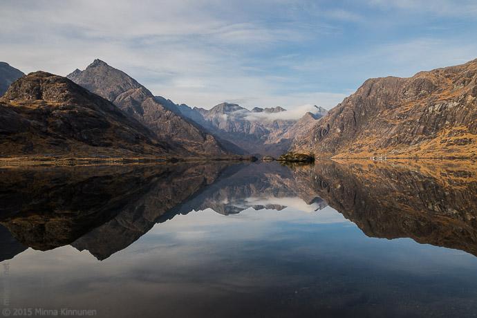 Mirror calm Loch Coruisk