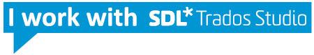 I work with SDL Trados Studio
